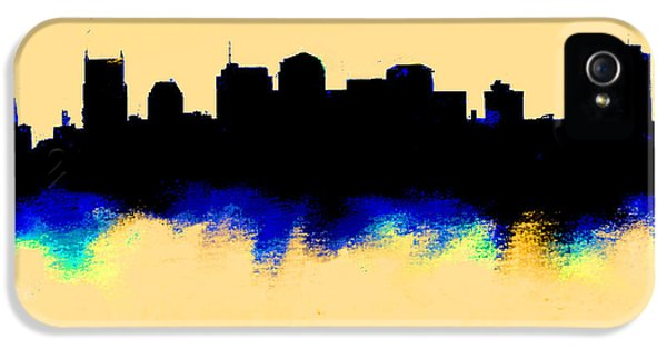 Nashville  Skyline  IPhone 5 Case by Enki Art