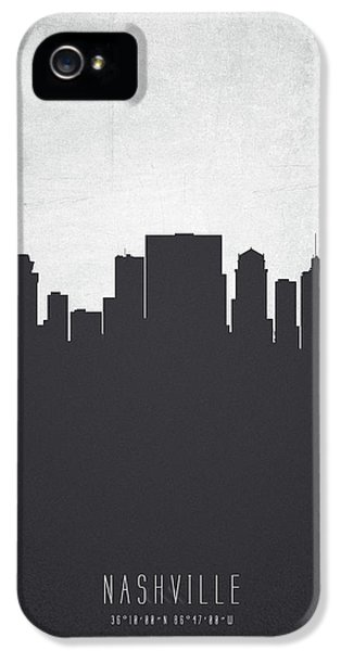 Nashville Tennessee Cityscape 19 IPhone 5 Case by Aged Pixel