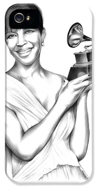 Rhythm And Blues iPhone 5 Case - Natalie Cole by Greg Joens