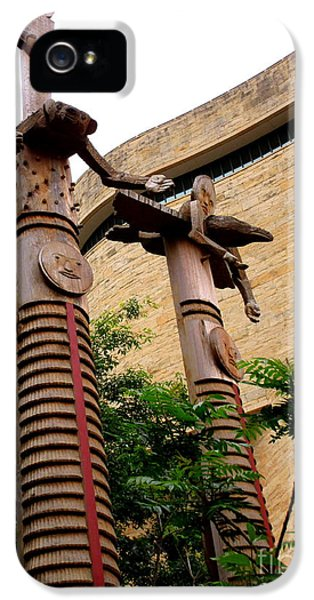National Museum Of The American Indian 3 IPhone 5 Case by Randall Weidner