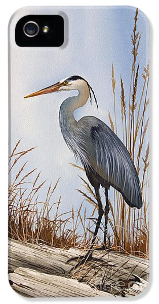 Heron iPhone 5 Case - Nature's Gentle Beauty by James Williamson