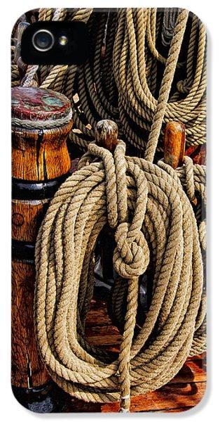 Nautical Knots 17 Oil IPhone 5 Case