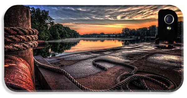 Nautical Sunrise IPhone 5 Case by Everet Regal