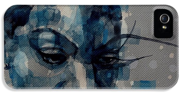 Ne Me Quitte Pas  IPhone 5 Case by Paul Lovering