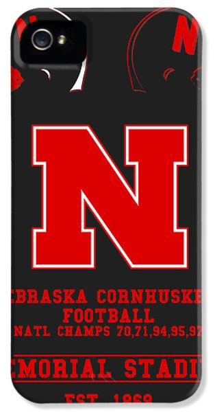 Nebraska iPhone 5 Case - Nebraska Cornhuskers 2 by Joe Hamilton