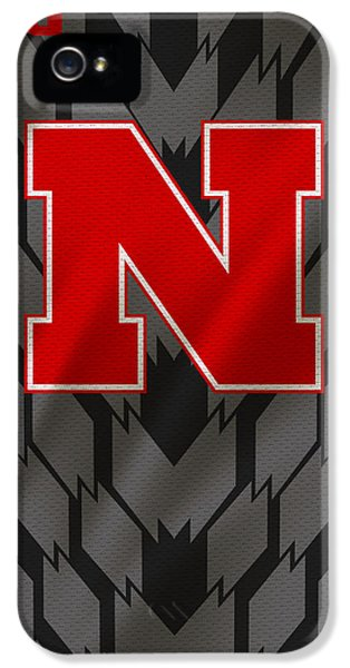 Nebraska iPhone 5 Case - Nebraska Cornhuskers Uniform by Joe Hamilton