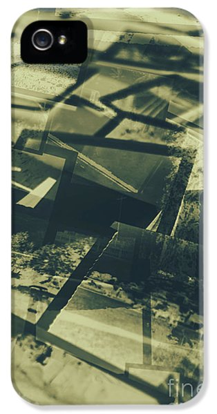 Negative Photos In Dark Room IPhone 5 Case