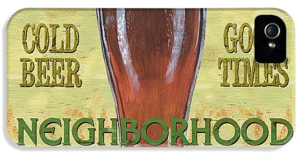 Neighborhood Pub IPhone 5 Case