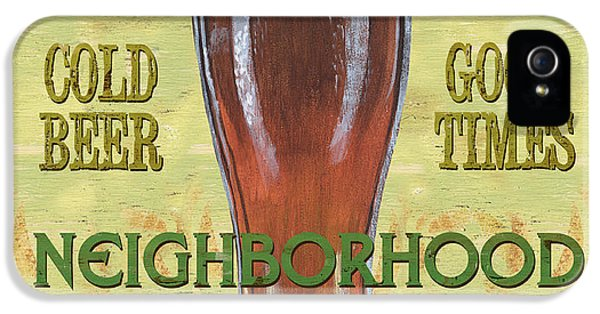 Neighborhood Pub IPhone 5 Case by Debbie DeWitt