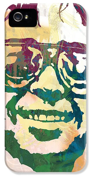 Neil Young Pop Stylised Art Poster IPhone 5 Case by Kim Wang