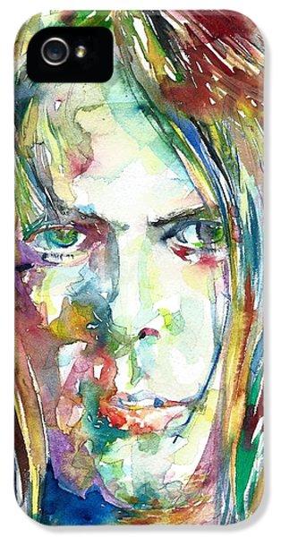 Neil Young Portrait IPhone 5 Case