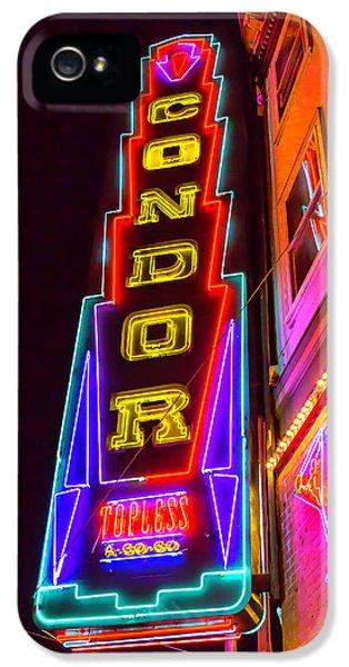 Neon Condor San Francisco IPhone 5 Case