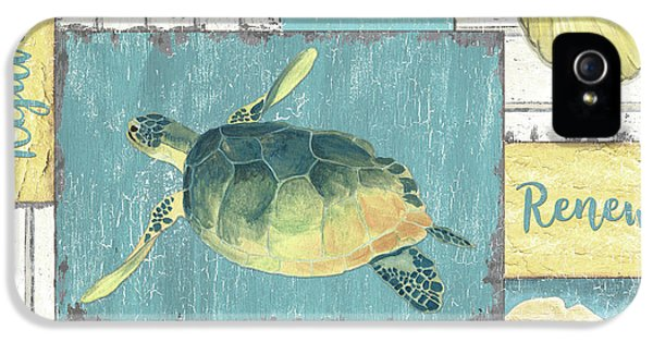 Seahorse iPhone 5 Case - Neptune 1 by Debbie DeWitt