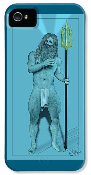 Blue Neptune IPhone 5 Case by Quim Abella