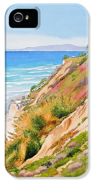 Neptune's View Leucadia California IPhone 5 Case by Mary Helmreich