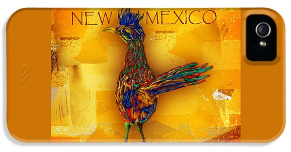 Roadrunner iPhone 5 Case - New Mexico Roadrunner by Barbara Chichester