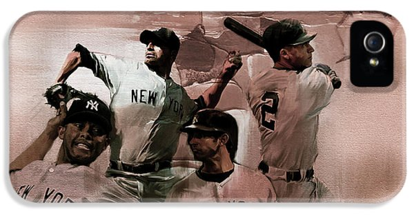 New York Baseball  IPhone 5 Case by Gull G