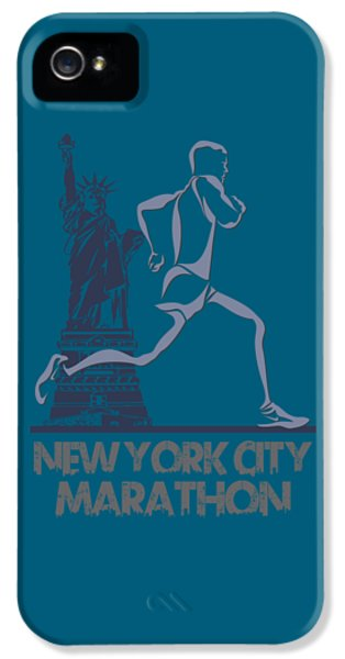 New York City Marathon3 IPhone 5 Case