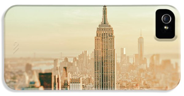 New York City - Skyline Dream IPhone 5 Case by Vivienne Gucwa