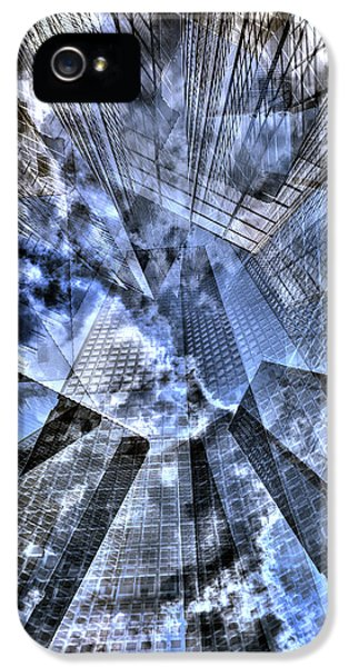 New York Iris Collage IPhone 5 Case