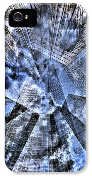 New York Iris Collage IPhone 5 Case by Dave Beckerman
