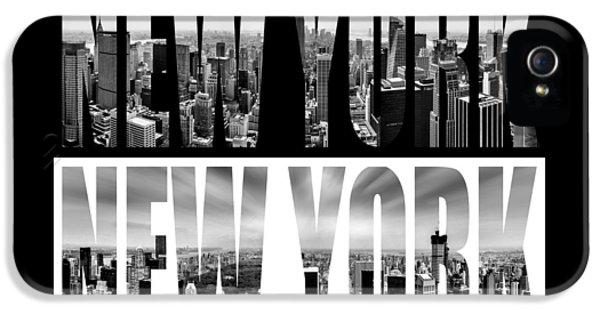 New York New York IPhone 5 Case by Az Jackson