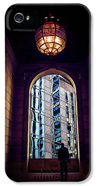 IPhone 5 Case featuring the photograph New York Perspective by Jessica Jenney