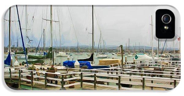Newport Bay And Balboa Island IPhone 5 Case by Heidi Smith