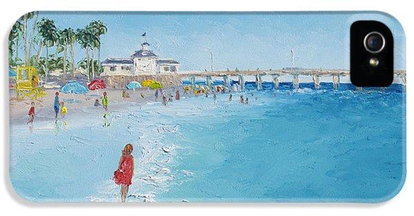 Newport Beach And Balboa Pier IPhone 5 Case