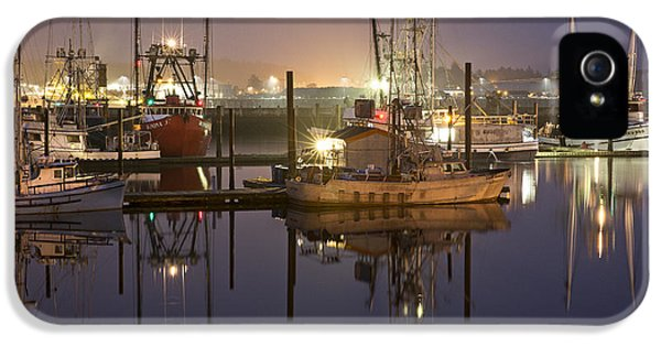 Newport Boats IPhone 5 Case by Jon Glaser