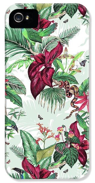 Nicaragua IPhone 5 Case by Jacqueline Colley