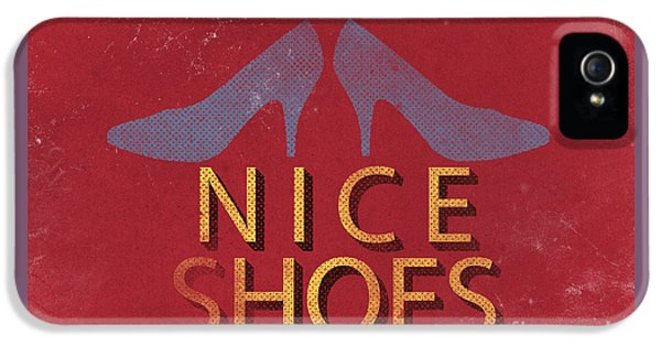 Nice Shoes  IPhone 5 Case by Edward Fielding