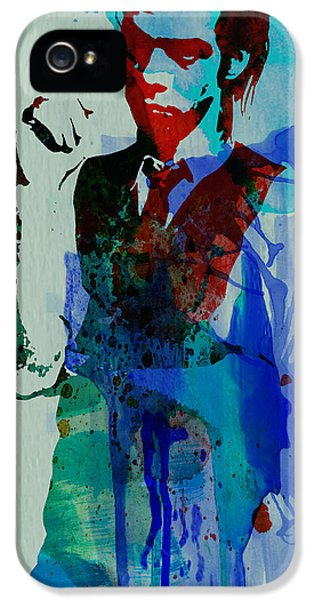 Nick Cave IPhone 5 Case by Naxart Studio