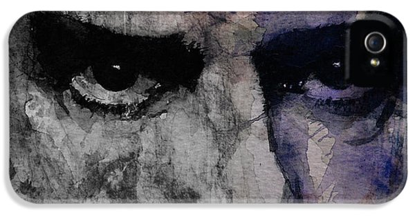 Nick Cave Retro IPhone 5 Case by Paul Lovering