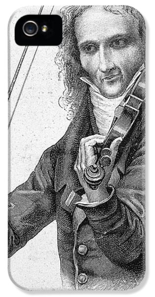 Violin iPhone 5 Case - Nicolo Paganini by Granger