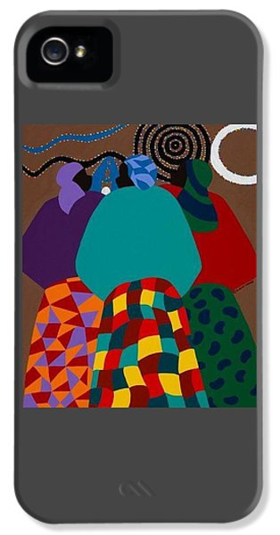 iPhone 5 Case - Nigerian Women by Synthia SAINT JAMES