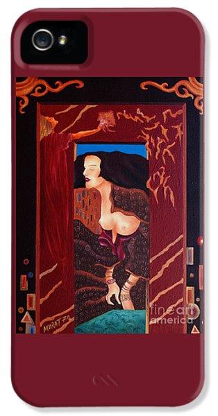Night Dream  -  Art Nouveau IPhone 5 Case by Johannes Murat