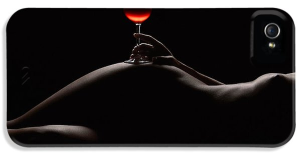 Nudes iPhone 5 Case - Night by Naman Imagery