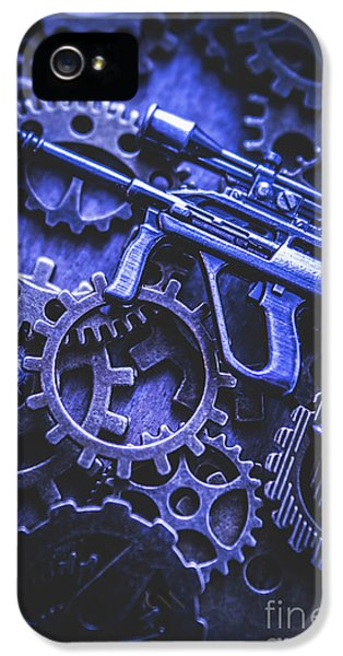 Night Watch Gears IPhone 5 Case by Jorgo Photography - Wall Art Gallery