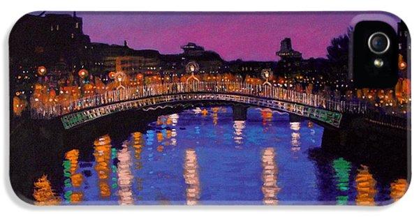 Nighttown Ha Penny Bridge Dublin IPhone 5 Case