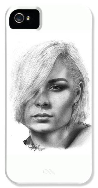 Nina Nesbitt Drawing By Sofia Furniel IPhone 5 Case