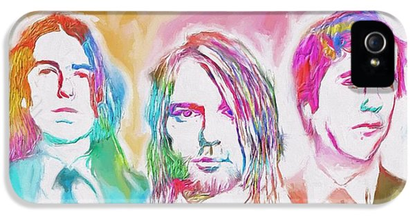 Nirvana Color Splash IPhone 5 Case by Dan Sproul