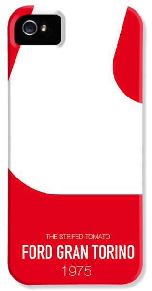Knight iPhone 5 Case - No003 My Starsky And Hutch Minimal Movie Car Poster by Chungkong Art