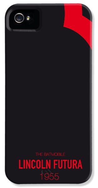Knight iPhone 5 Case - No006 My Batmobile Minimal Movie Car Poster by Chungkong Art