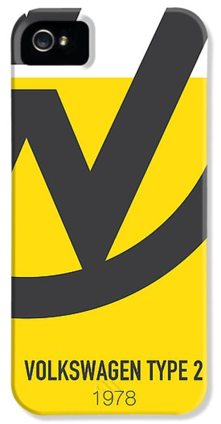 Knight iPhone 5 Case - No009 My Little Miss Sunshine Minimal Movie Car Poster by Chungkong Art