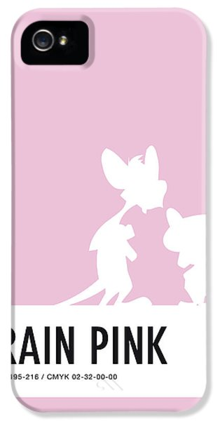 No01 My Minimal Color Code Poster Pinky And The Brain IPhone 5 Case
