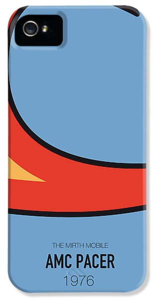 Knight iPhone 5 Case - No010 My Waynes World Minimal Movie Car Poster by Chungkong Art