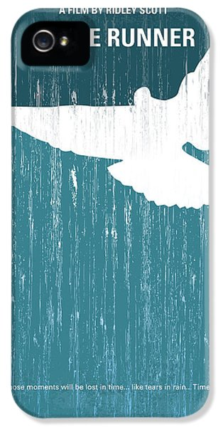 Hollywood iPhone 5 Case - No011 My Blade Runner Minimal Movie Poster by Chungkong Art
