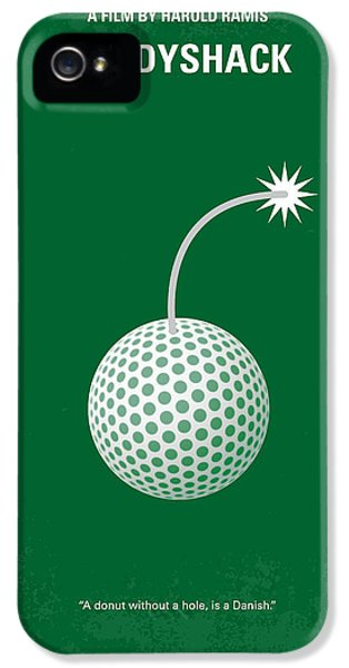 No013 My Caddy Shack Minimal Movie Poster IPhone 5 Case by Chungkong Art