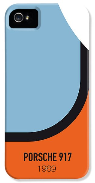 Knight iPhone 5 Case - No016 My Le Mans Minimal Movie Car Poster by Chungkong Art